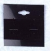 Earring Card 50mm black